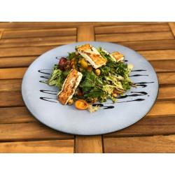 Pikantní cizrnový salát